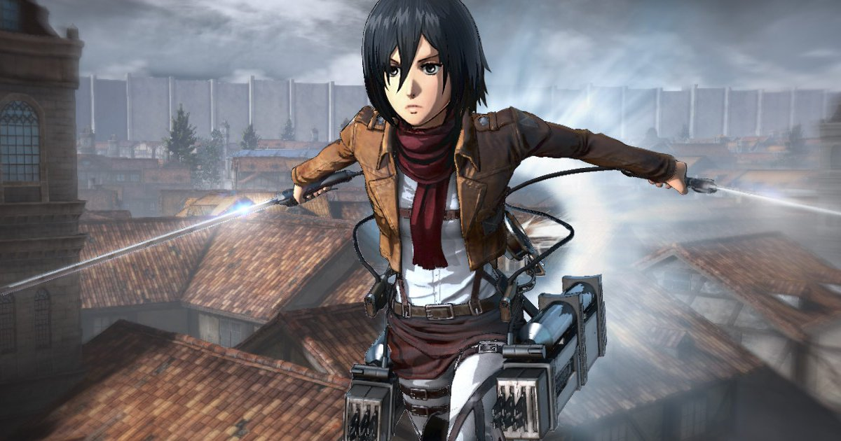 Attack On Titan Video Game Revealed At Tokyo Game Show ...