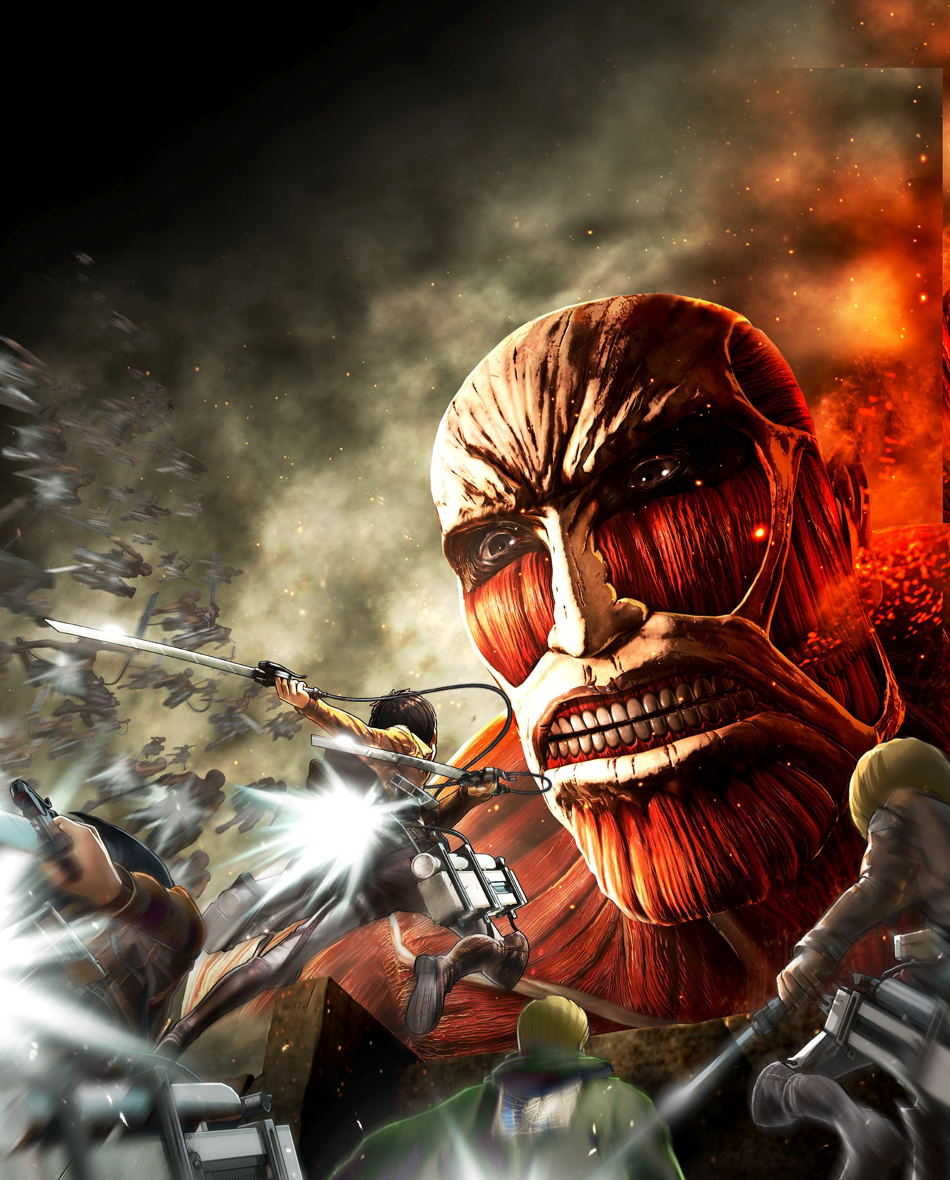 Attack On Titan Video Game Announcement Trailer, Art