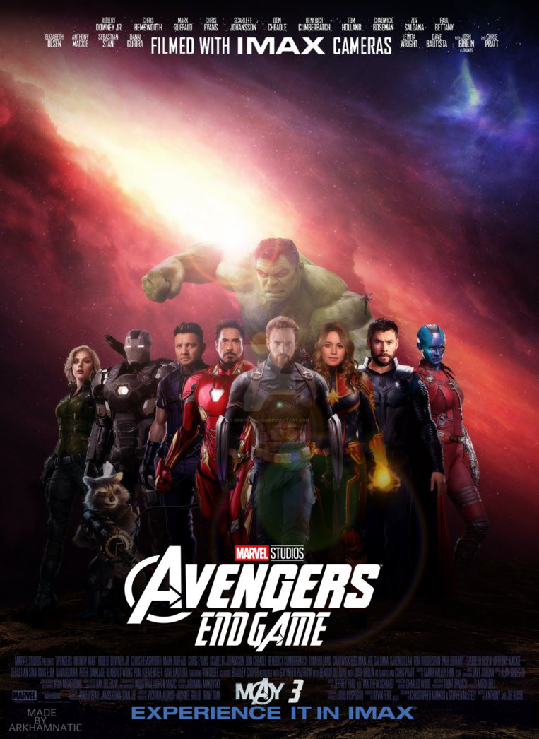 Avengers 4 Fan Posters Tease Endgame Cosmic Book News