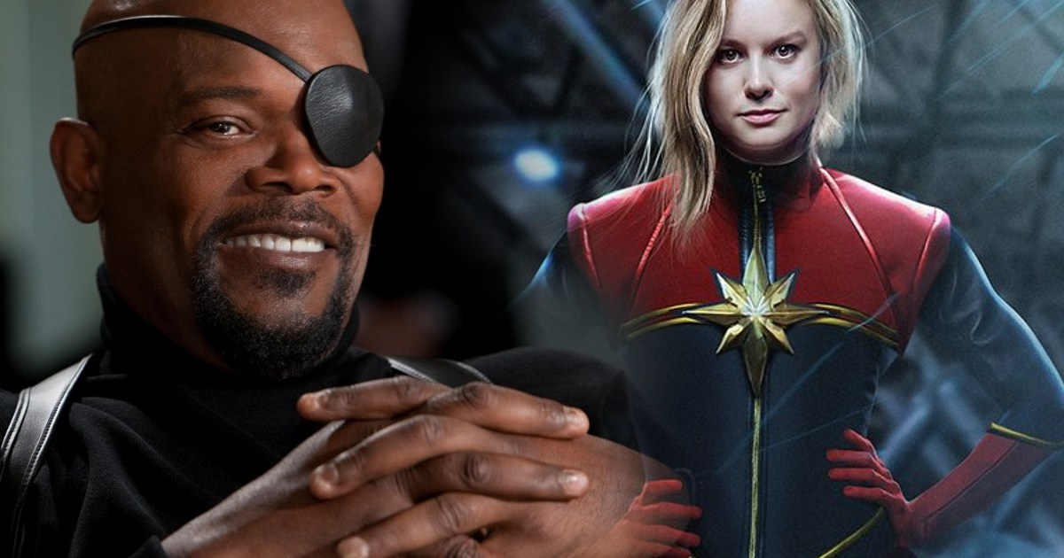 Brie Larson, Samuel L. Jackson & Cobie Smulders Spotted On Captain Marvel Or Avengers 4 Set