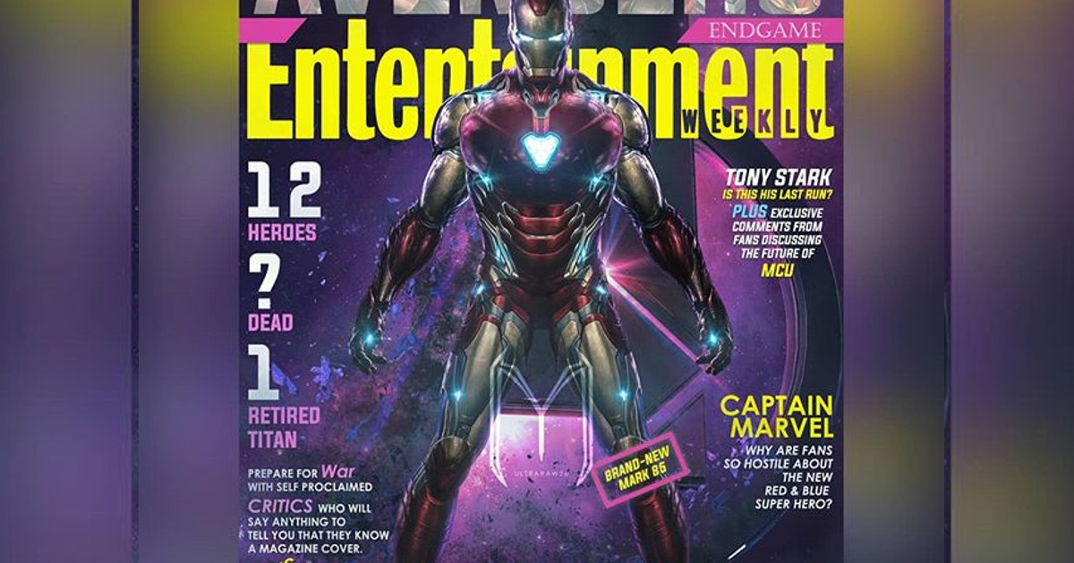 Avengers Endgame Awesome Fan Art Magazine Covers Cosmic Book News