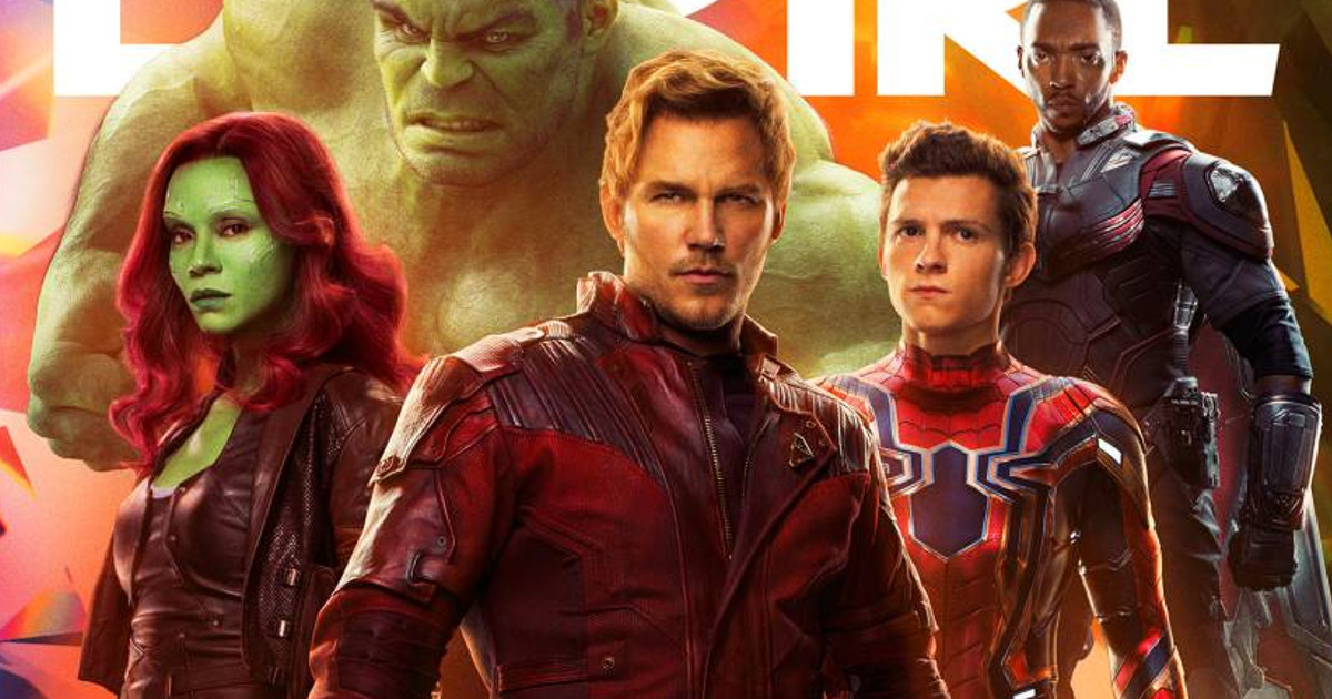 Avengers: Infinity War Empire Magazine Covers Revealed