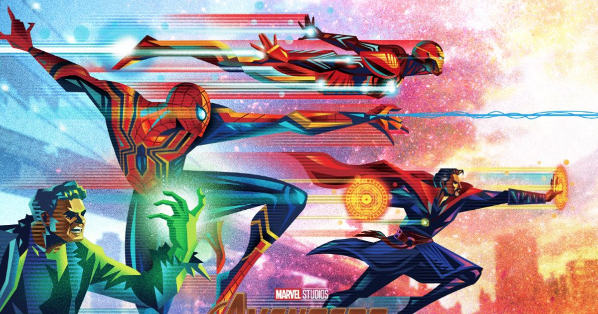5 Posters For The Avengers: Infinity War