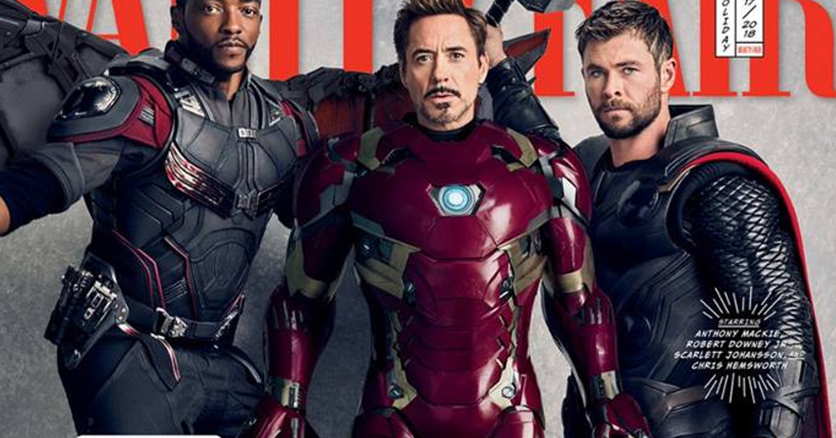 The Avengers: Infinity War Graces Magazine Covers