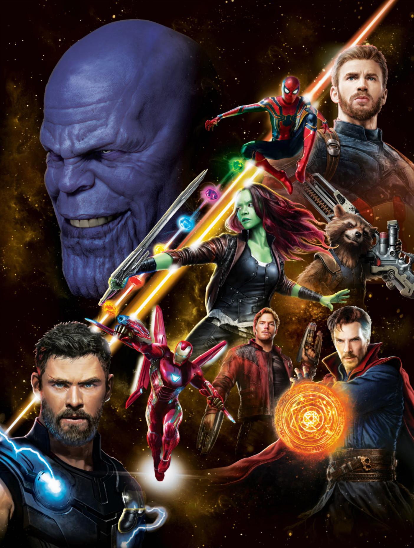 avengers: infinity war assembles in new poster art | cosmic book news