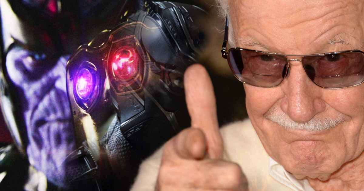 See Stan Lee Surrounded By Avengers On The Set Of Infinity War