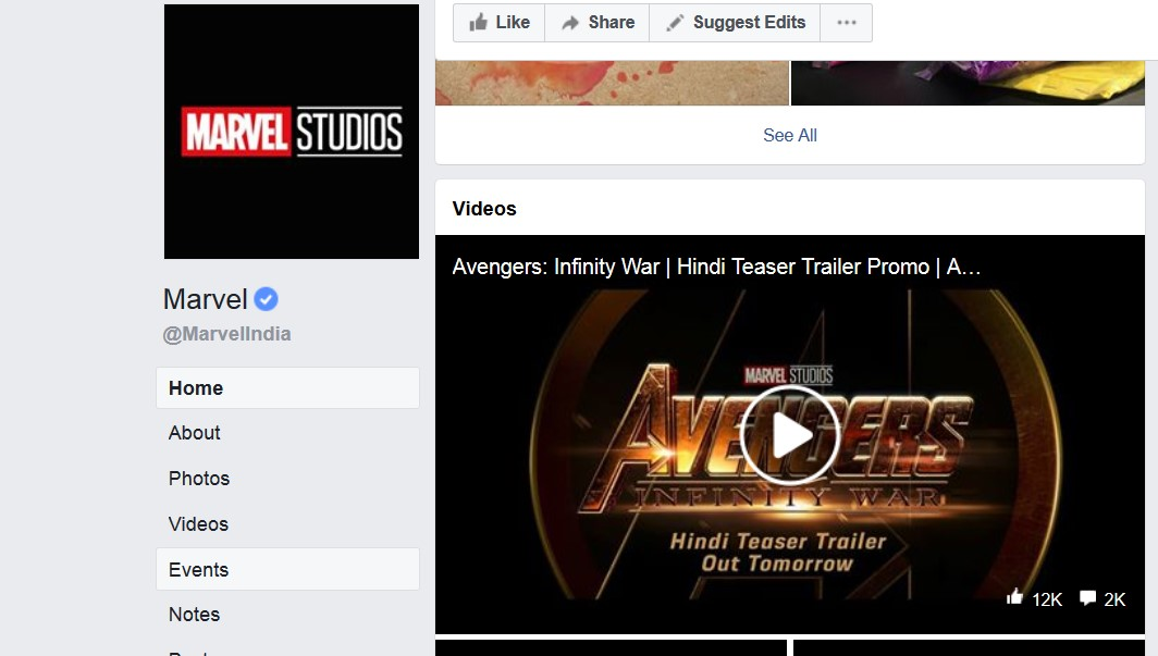 The Avengers: Infinity War trailer teaser