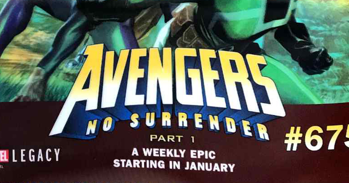 Avengers Weekly No Surrender