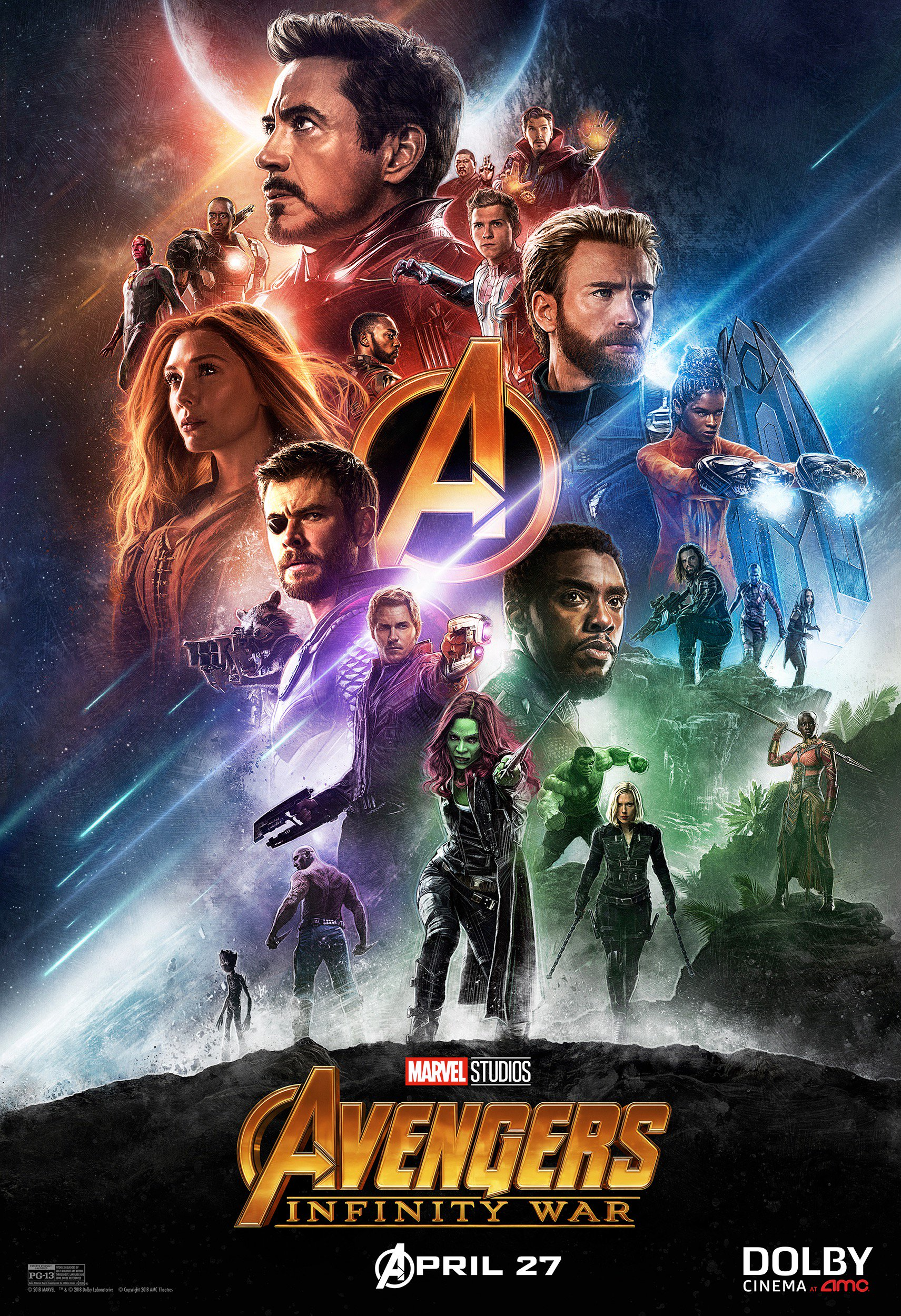 two cool new infinity war posters | cosmic book news
