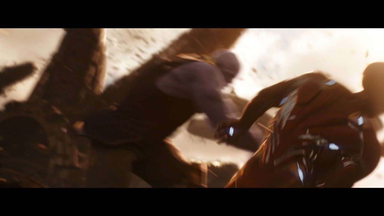 Thanos The Avengers Infinity War