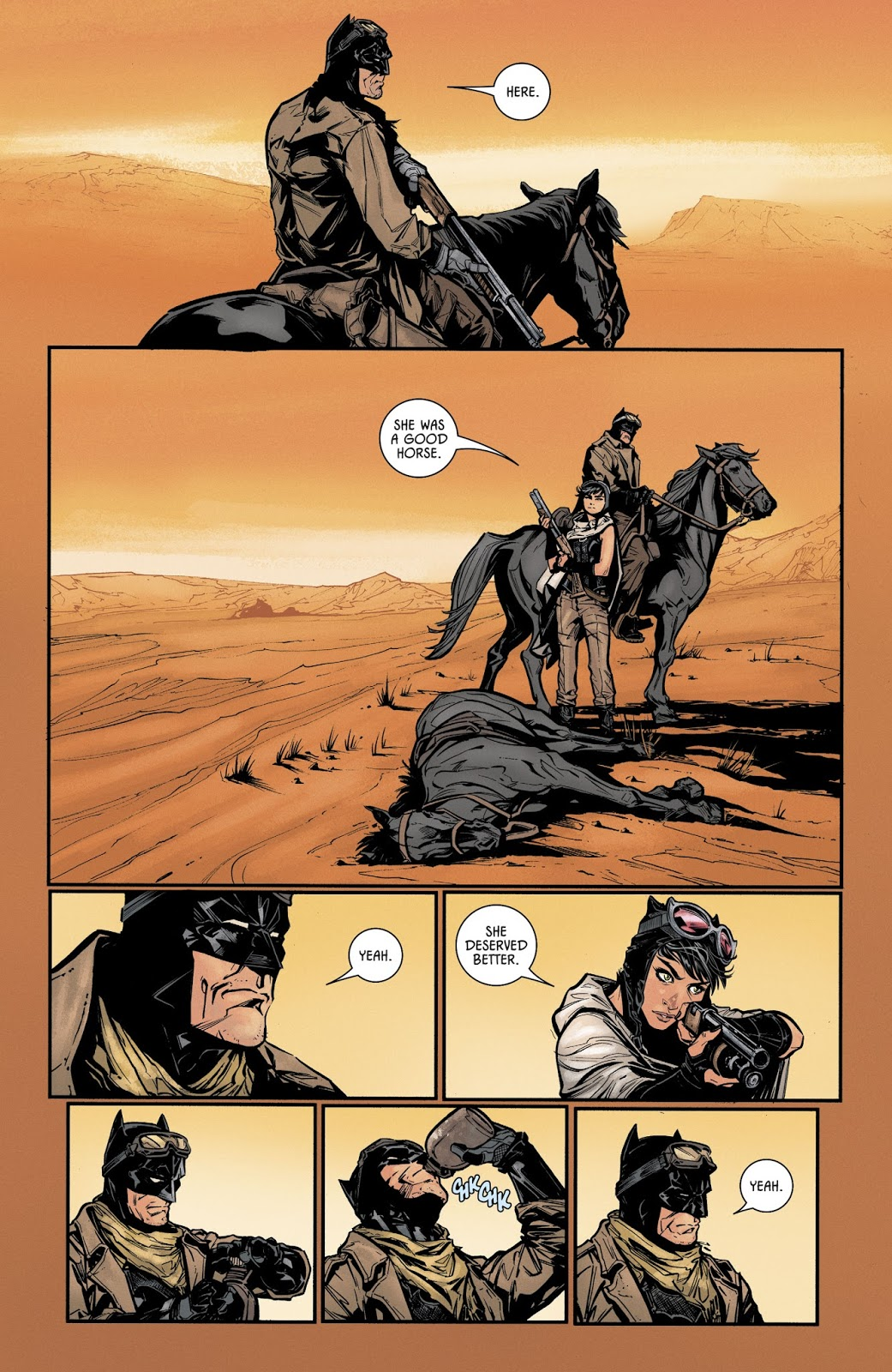 Batman #33 Knightmare Batman