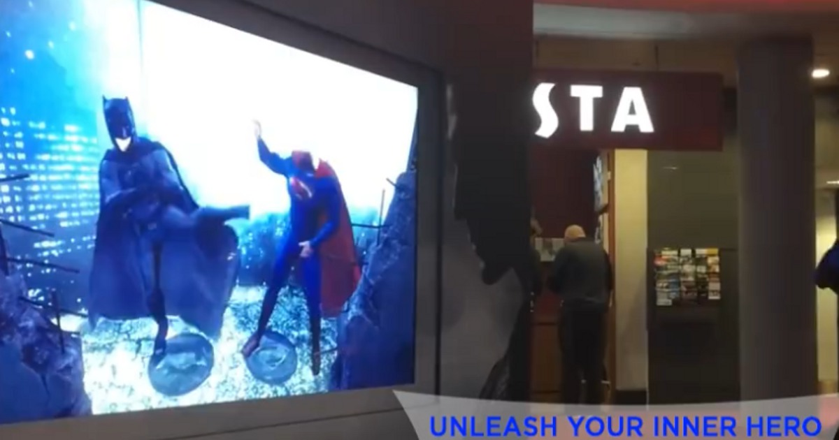 Augment Reality With Batman Vs. Superman