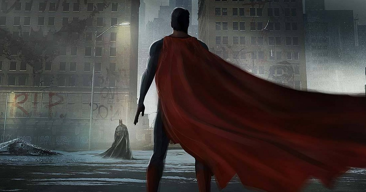 New Batman vs. Superman Concept Art