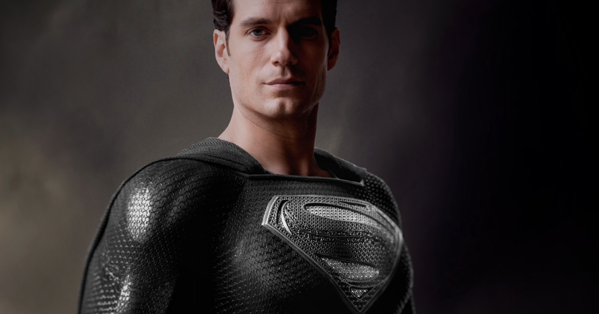 Henry Cavill Black Superman Suit Teased For Release The Snyder Cut | Cosmic  Book News