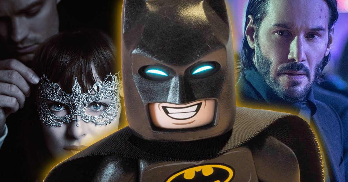 Box Office: LEGO Batman, Fifty Shades, John Wick 2