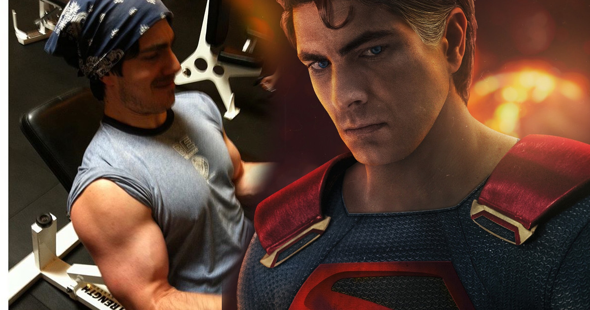 Brandon Routh In Training For Superman For Crisis On ...