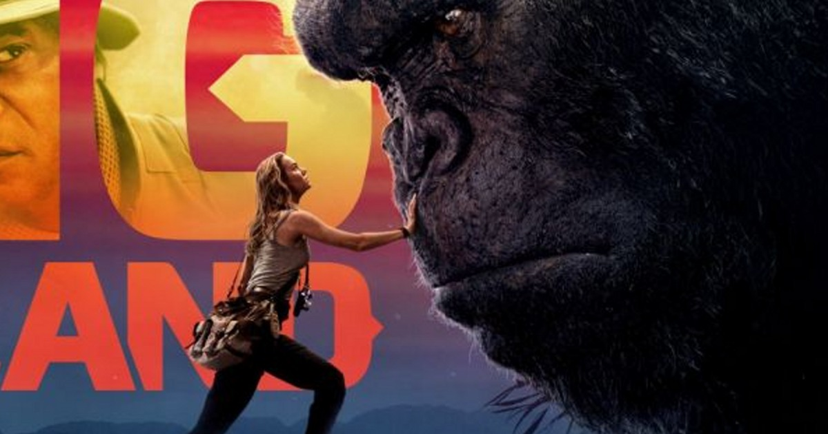 check out a new banner for the up ing kong skull island movie