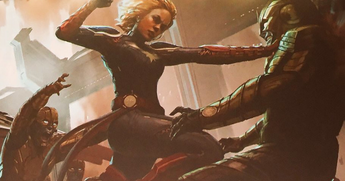 Captain Marvel Movie Enlists New Screenwriter