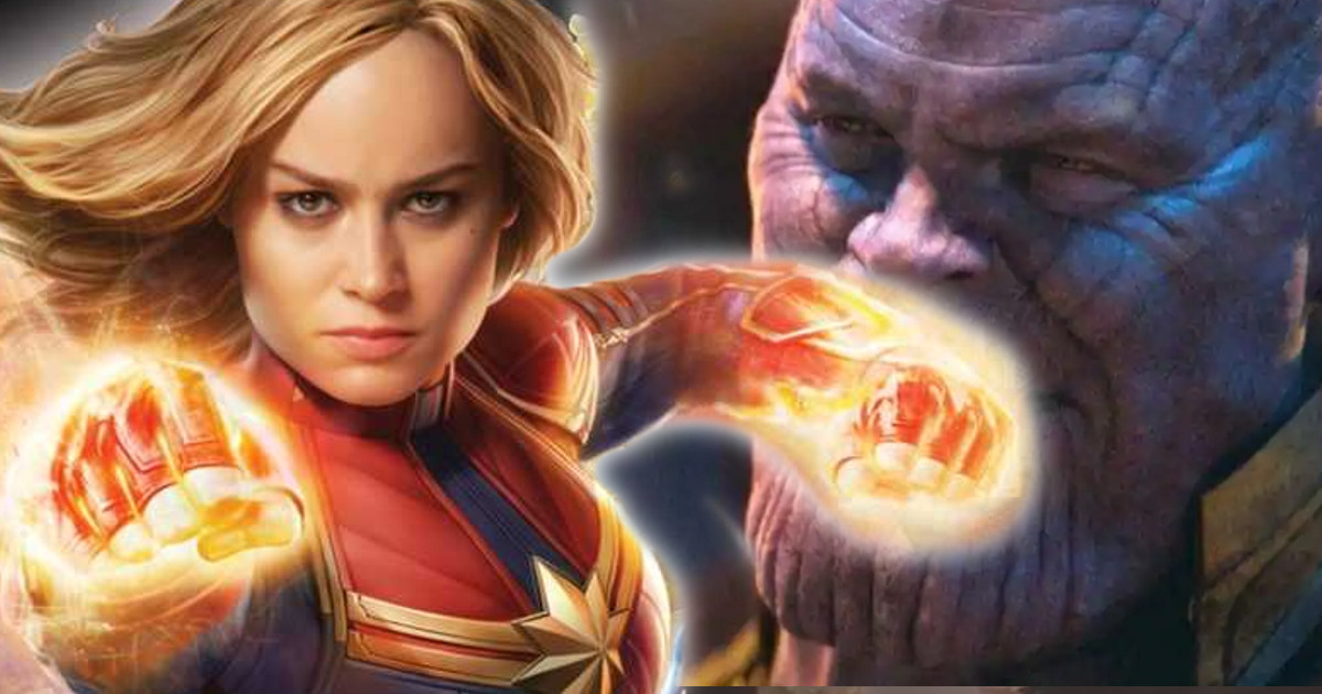 Captain Marvel More Powerful Than Thanos Confirms Feige | Cosmic