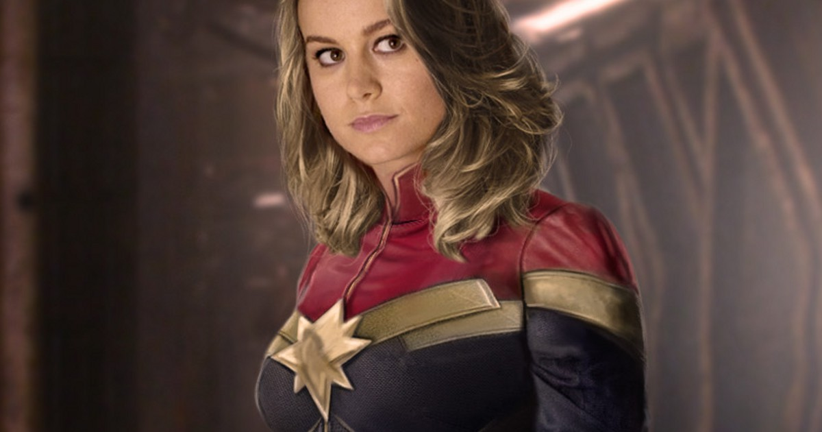 Captain Marvel Shows Off Powers In Set Video