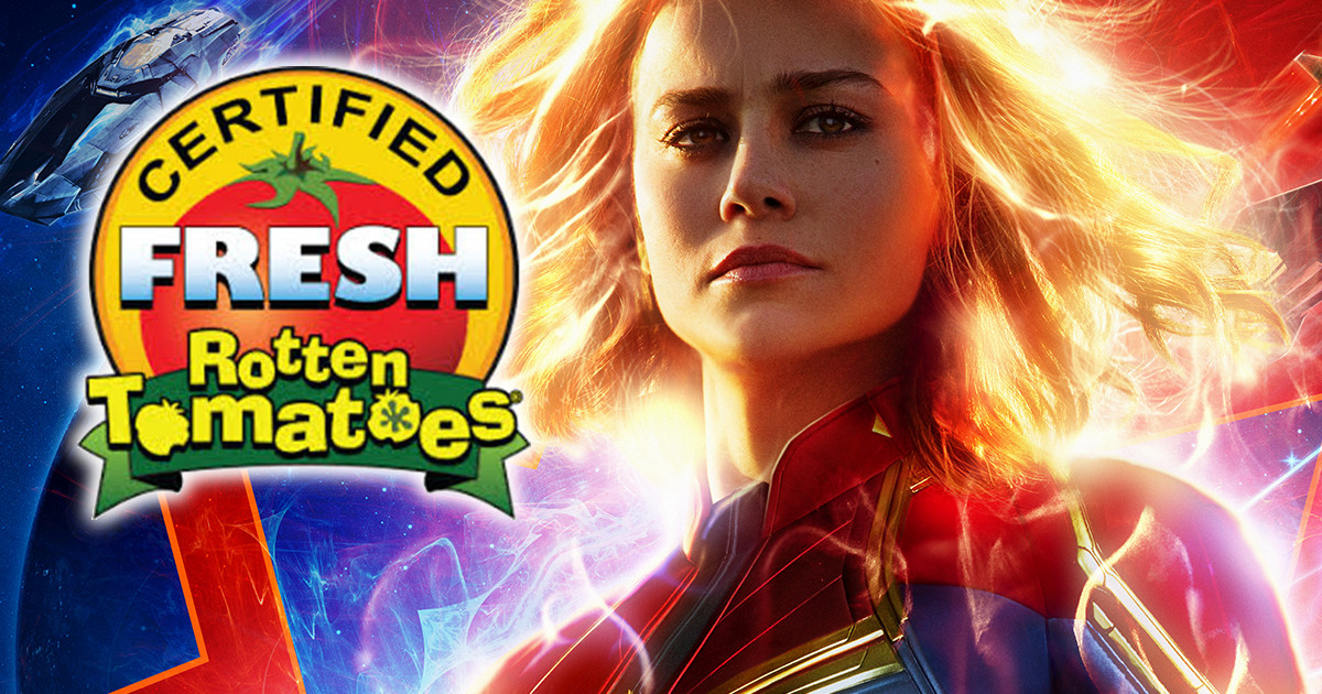 Captain Marvel Rotten Tomatoes Lowest Mcu Movie Ever Cosmic Book News