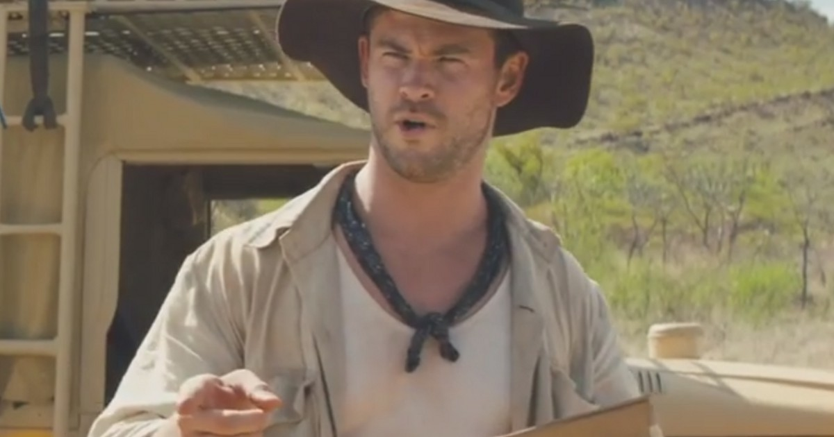 Chris Hemsworth Featured In New Dundee Trailer