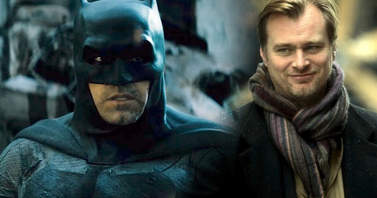 Christopher Nolan Justice League