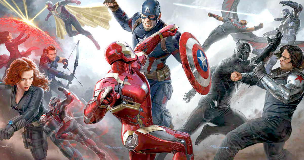 the avengers infinity war to feature iron man vs captain america