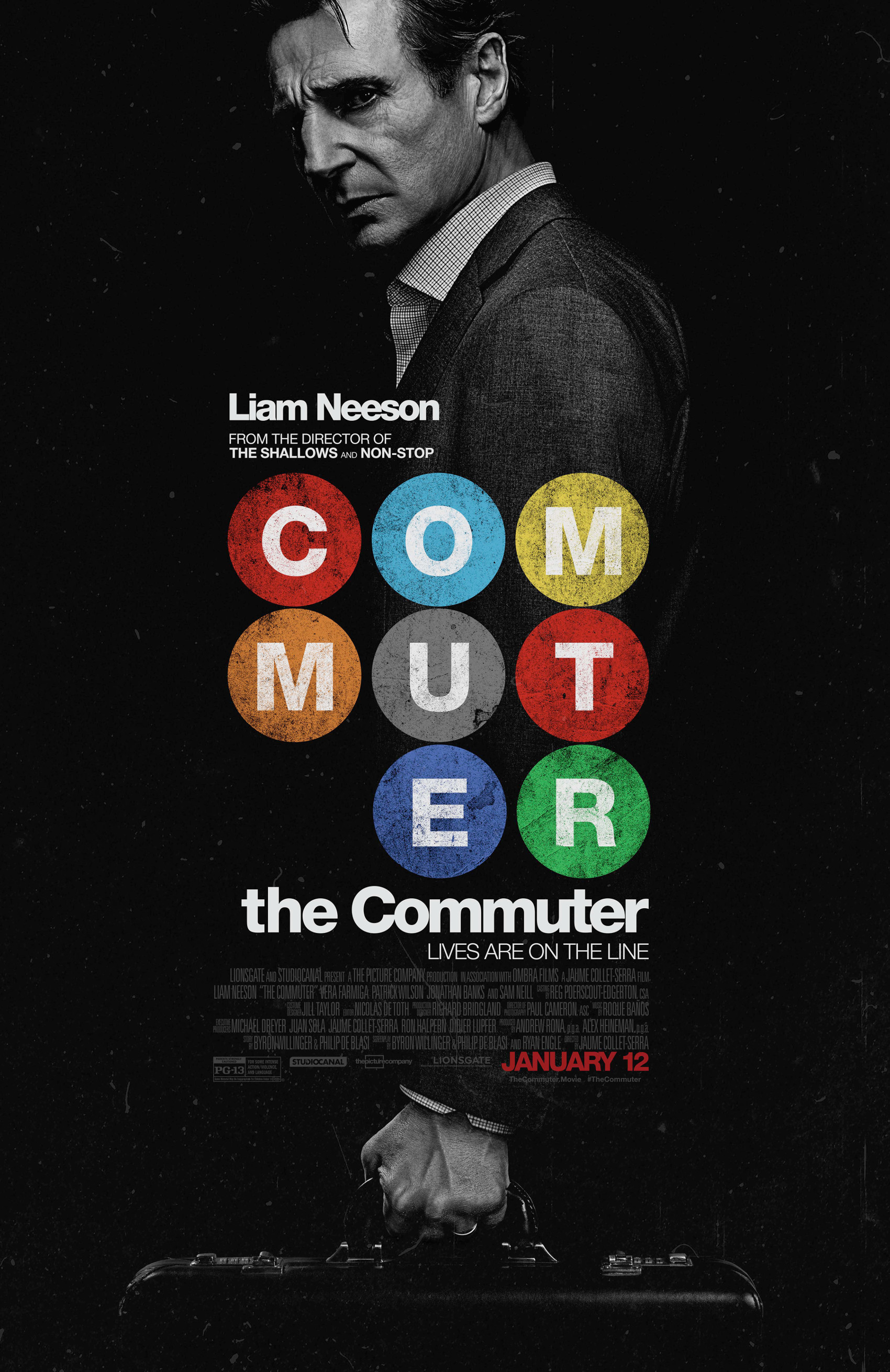 The Commuter Poster Liam Neeson