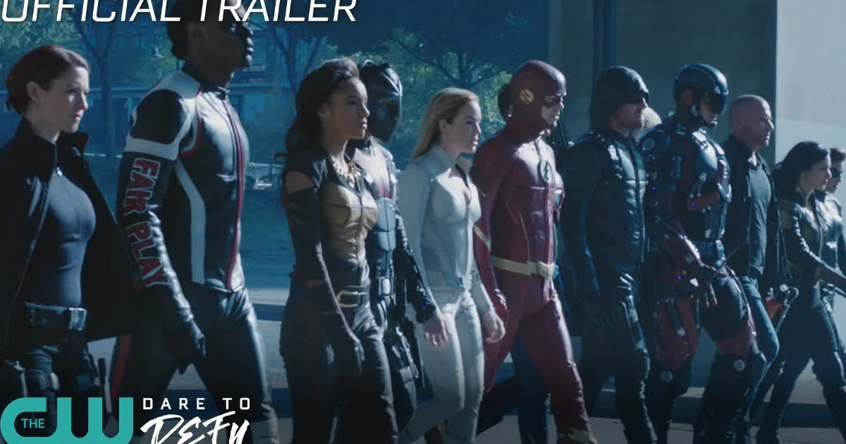 Crisis On Earth-X Trailer: Arrow, Flash, Legends, Supergirl Crossover