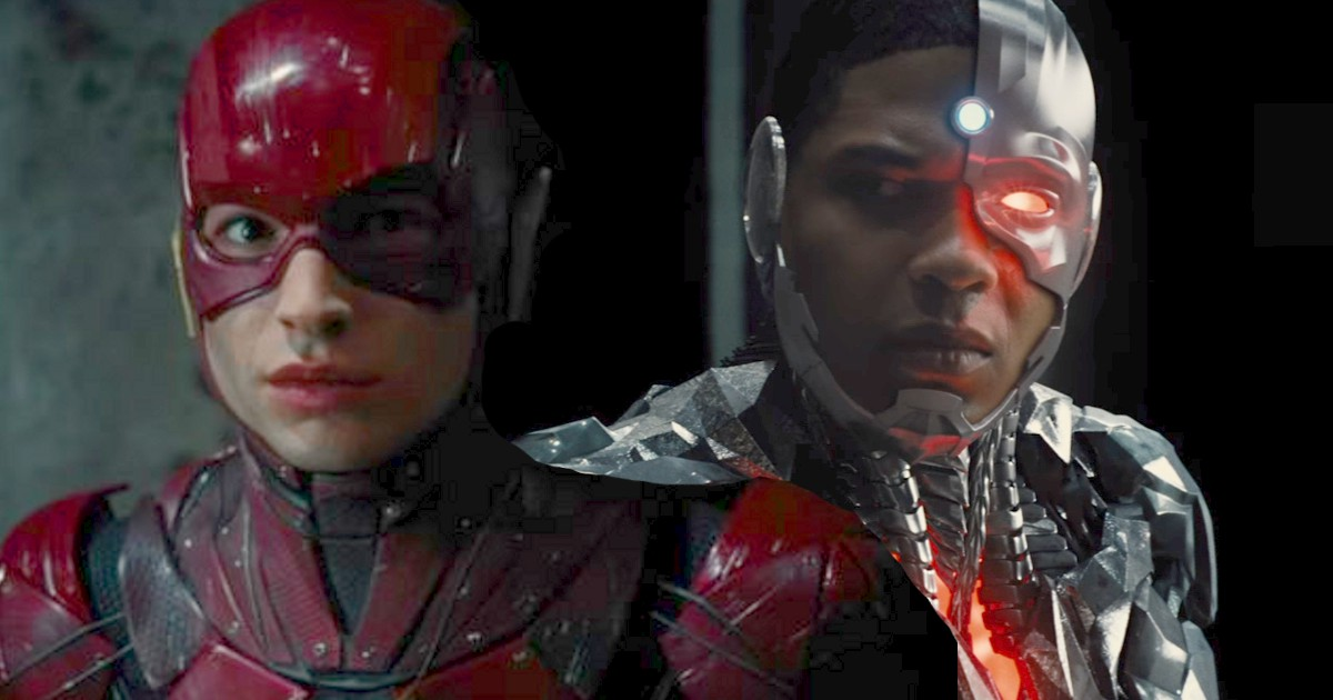 cyborg confirmed for the flash movie again cosmic book news