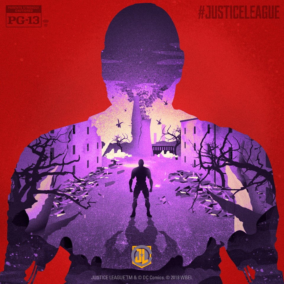 Justice League Cyborg Blu-Ray Poster