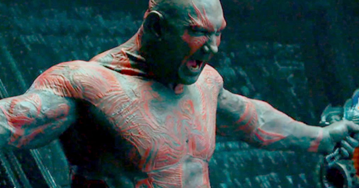Dave Bautista Back In Training; Shares Image With Groot