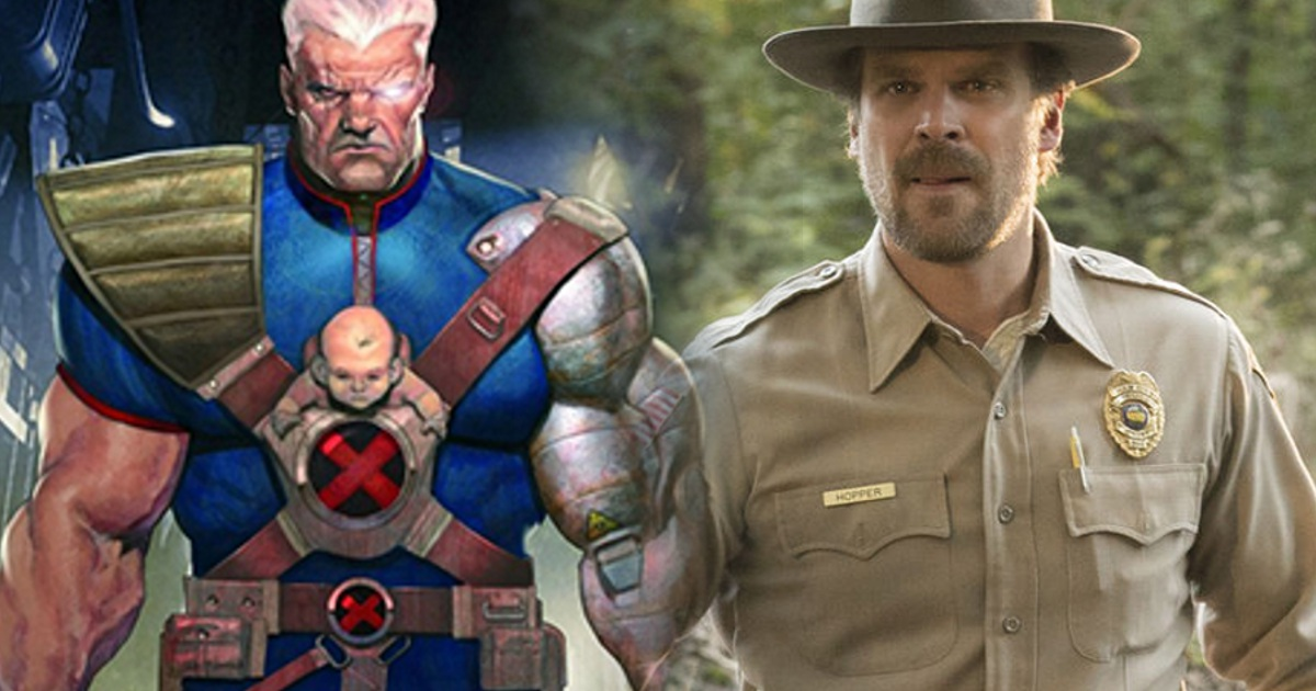 David Harbour Rumored For Cable In Deadpool 2 - Cosmic ... Ryan Reynolds Movies