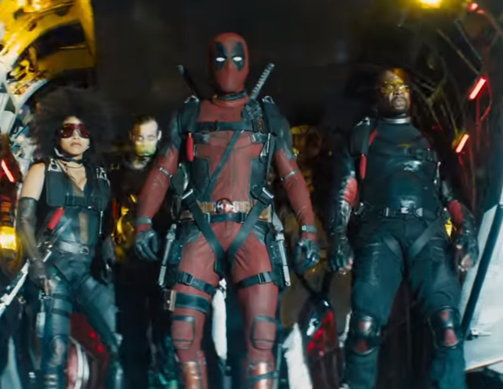 Deadpool 2 Shatterstar and Terry Crews