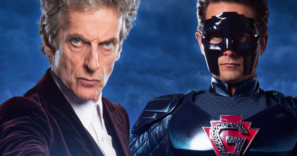 Doctor Who Superhero Christmas Special Coming To Theaters   Cosmic ...