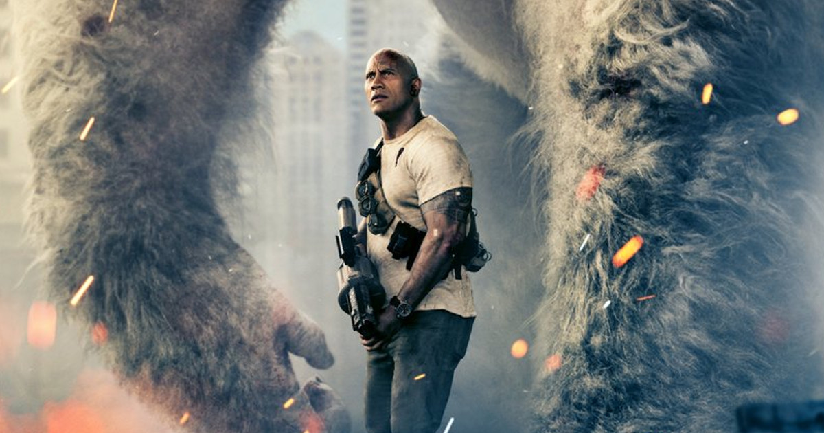 Dwayne Johnson Rampage Poster Released Ahead of Trailer
