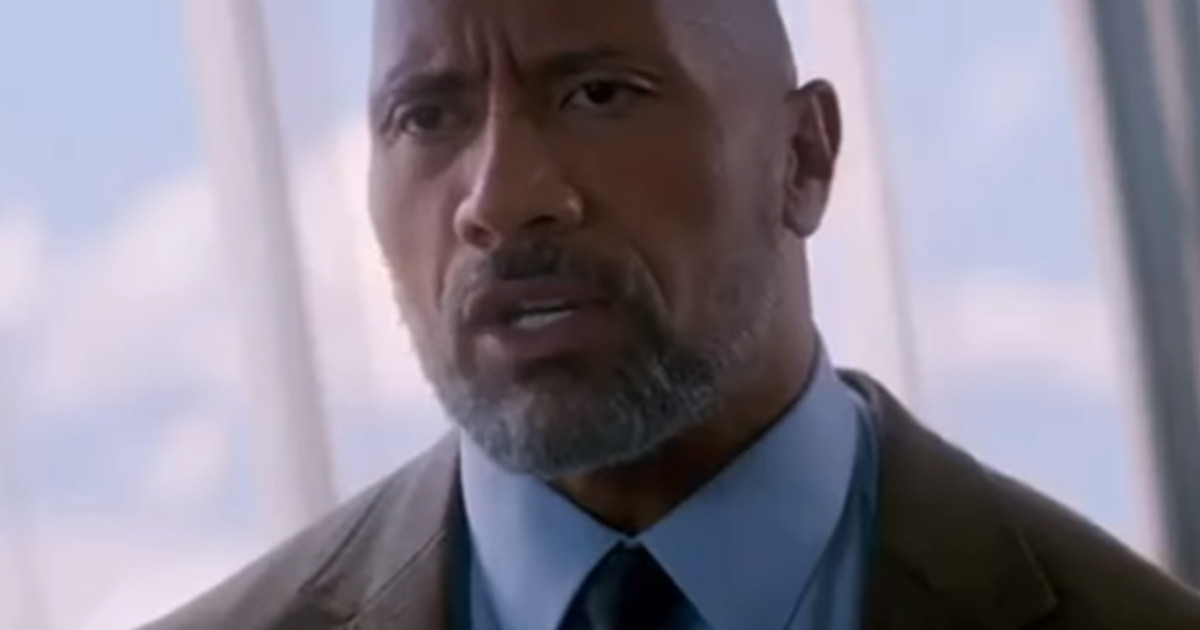'Skyscraper' Super Bowl Spot: The Rock vs. Big Buildings