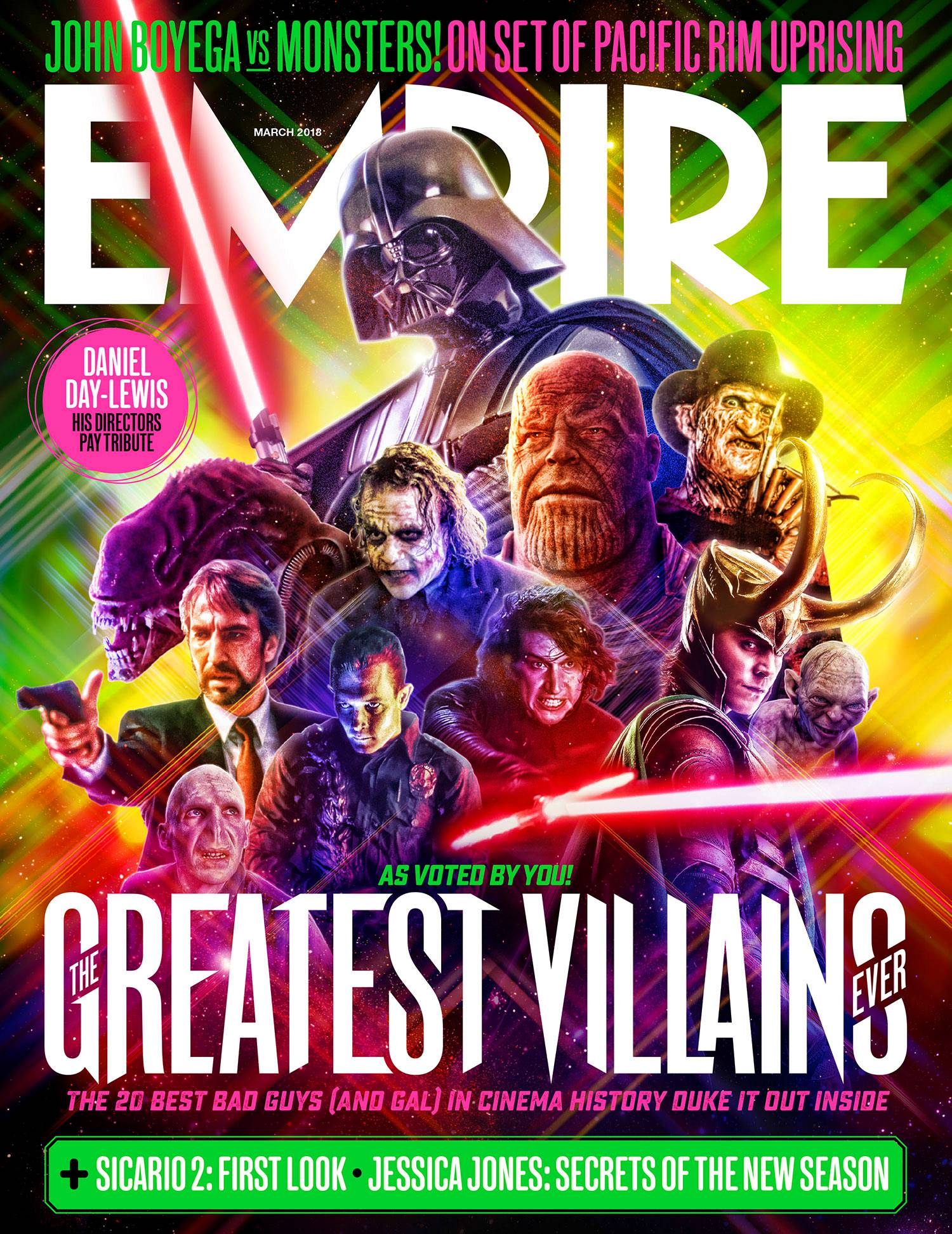 Empire Magazine Villains Cover Thanos