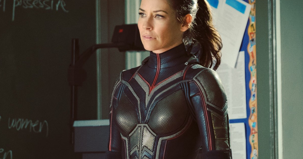 Evangeline Lilly Spotted In Full Wasp Costume For Ant-Man 2