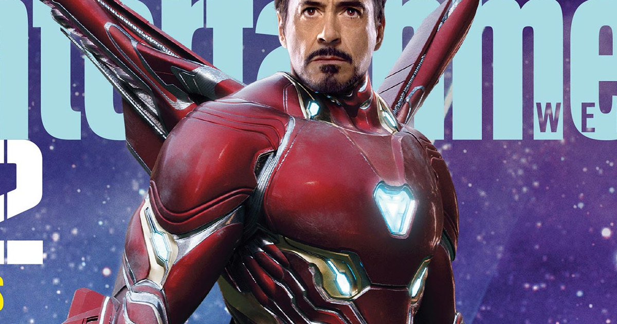 First Look At Robert Downey Jr. In Avengers: Infinity War New Iron Man Suit