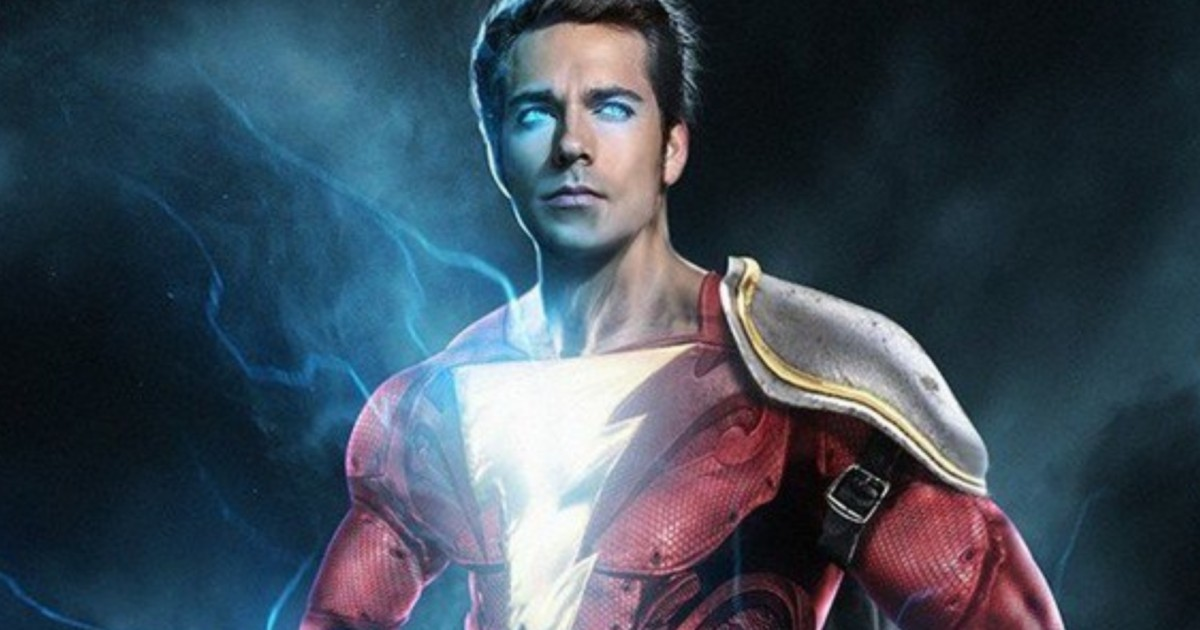 First Look At Zachary Levi In Shazam! Costume
