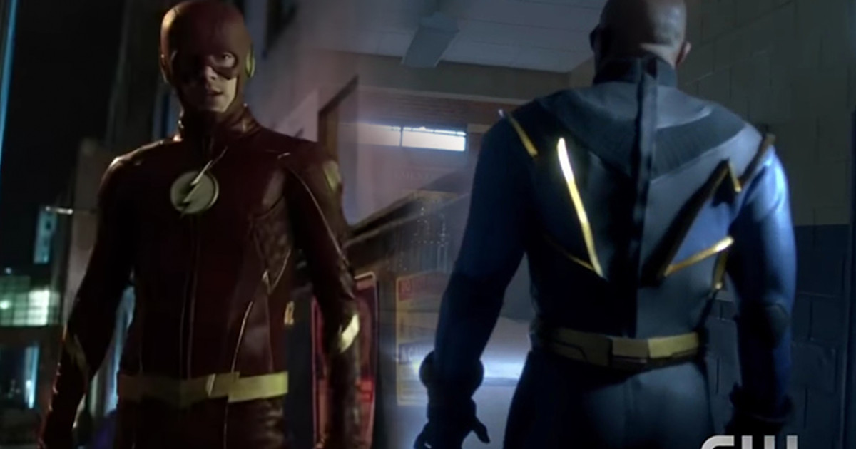 "The Flash ""Trial of The Flash""  & Black Lightning Clips"