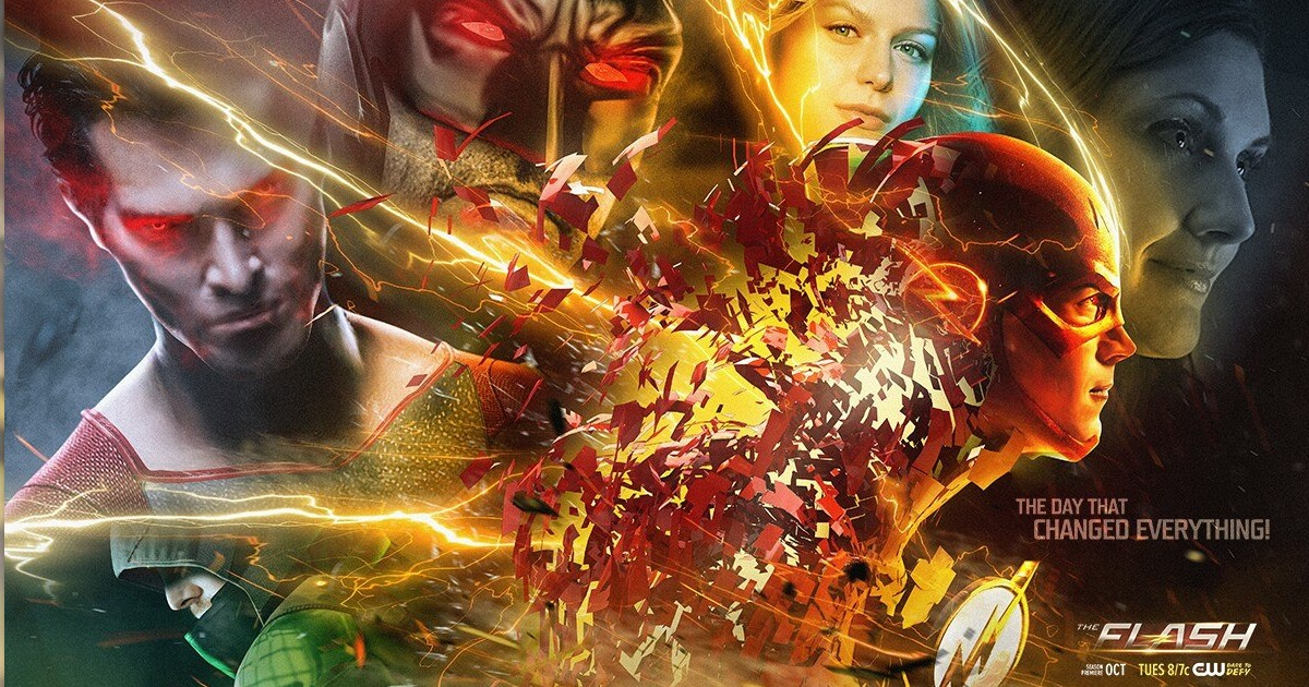 The Flash Season 3 Flashpoint Could Affect Arrow; Also Cool Fan Art