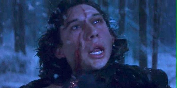 Star Wars director forced to explain why Kylo Ren's scar has moved