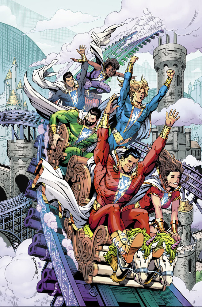 Geoff Johns Shazam ongoing
