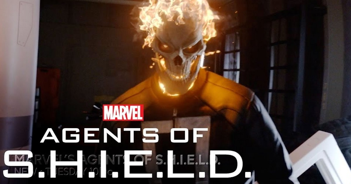 GHOST RIDER Gets Rude Awakening By [Redacted] In AGENTS OF SHIELD - SPOILERS