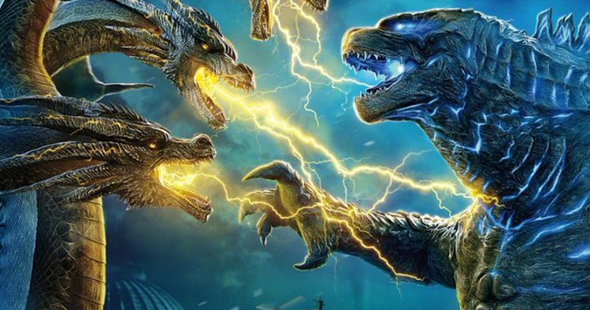 Godzilla Vs Ghidorah In Epic Chinese Poster Cosmic Book News