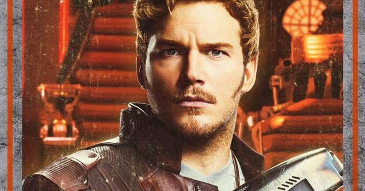 Guardians of the Galaxy 2 Character Posters & Chris Pratt ...