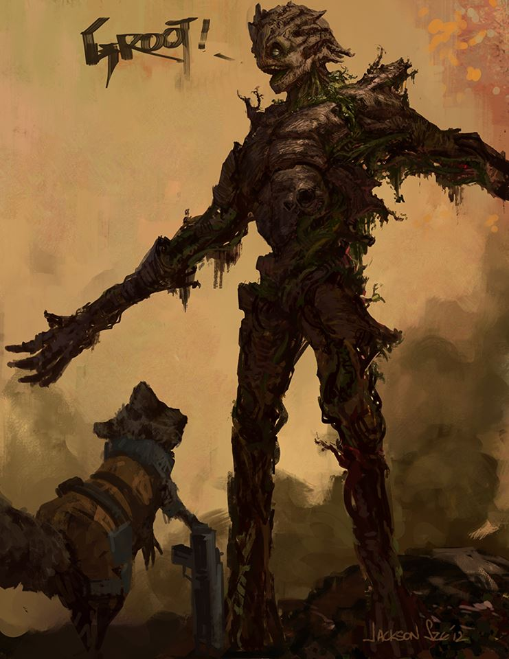 Guardians of the Galaxy Art Surfaces: Rocket, Groot ...